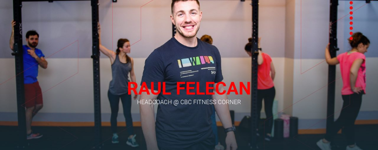 Head Coach la CBC Fitness Corner