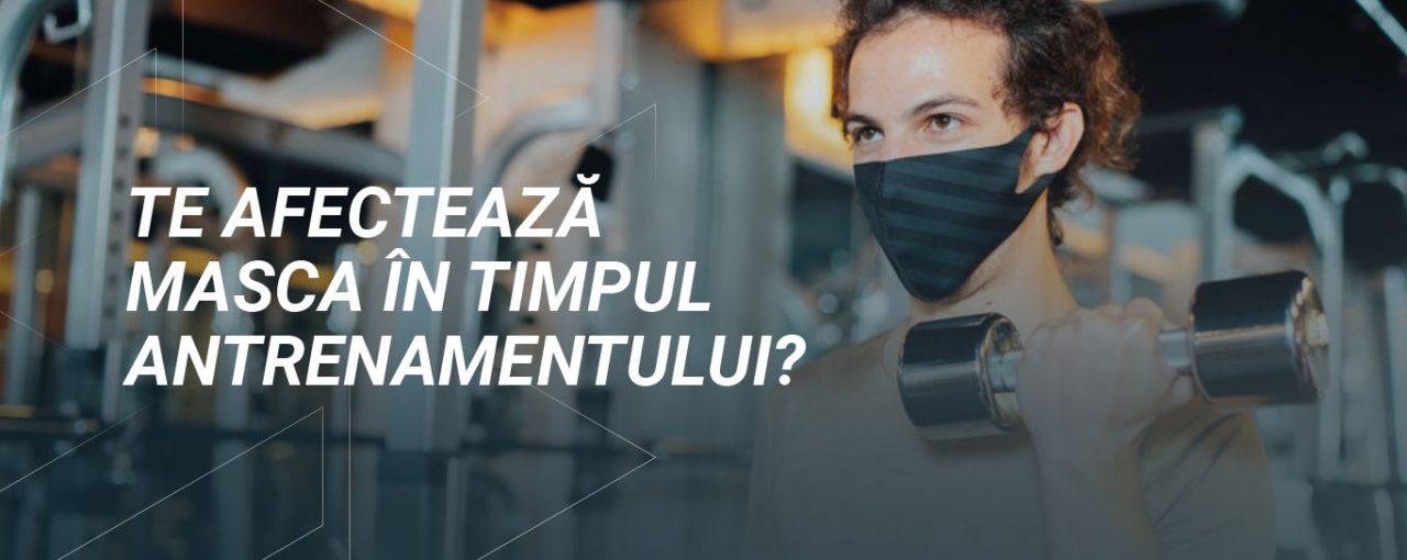 Te afectează masca în timpul antrenamentelor?